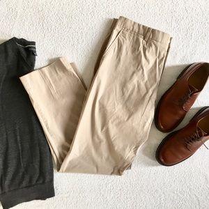 Theory Lightweight Cotton Stretch Pants